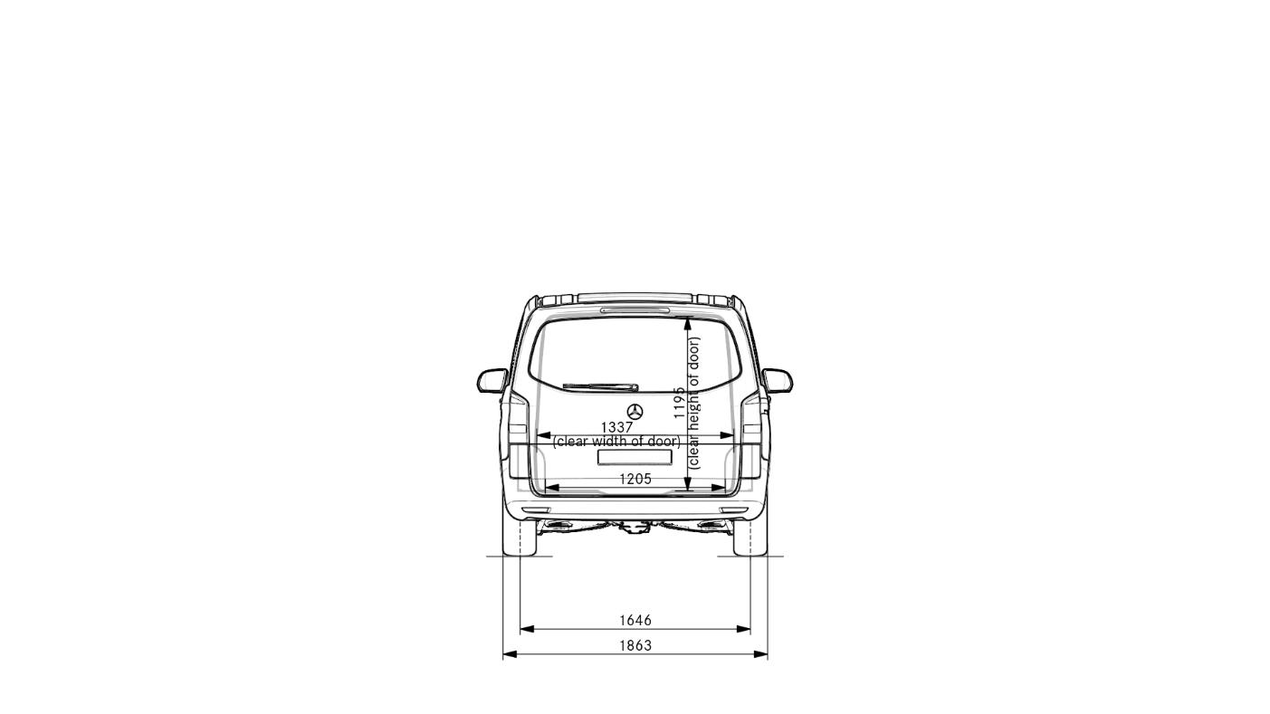 Vito_Tourer_ExtraLong_rear_dimension_Drawing